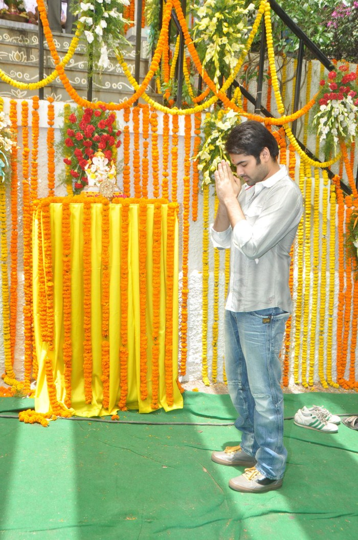 Telugu Actor Ram New Movie Launch