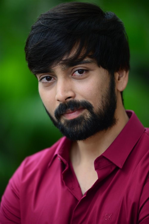Actor Indhra @ Rama Chakkani Seetha Movie Trailer Launch Stills
