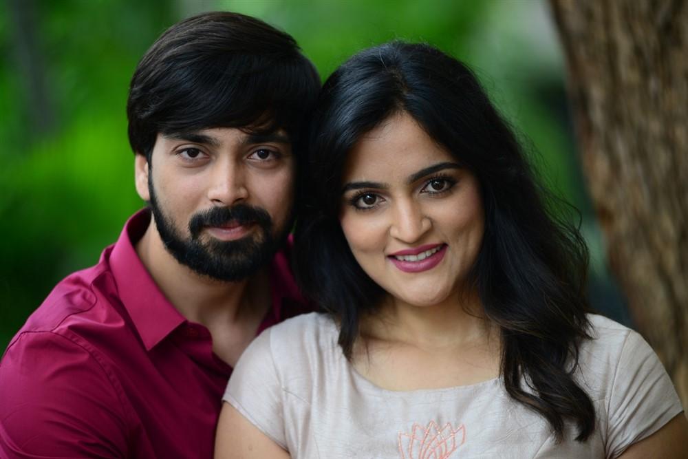 Indhra, Sukrutha Wagle @ Rama Chakkani Seetha Movie Trailer Launch Stills