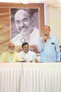 Akkineni Ramesh Prasad @ Daggubati Ramanaidu Statue inauguration @ Film Chamber Photos