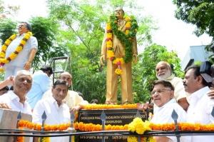 Dr. Daggubati Ramanaidu Statue inauguration @ Film Chamber Photos