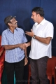 Goundamani & Sathyaraj @ M Ramanathan Daughter Wedding Reception Photos