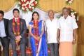 Azhagan Thamizhmani at M Ramanathan Daughter Wedding Reception Photos