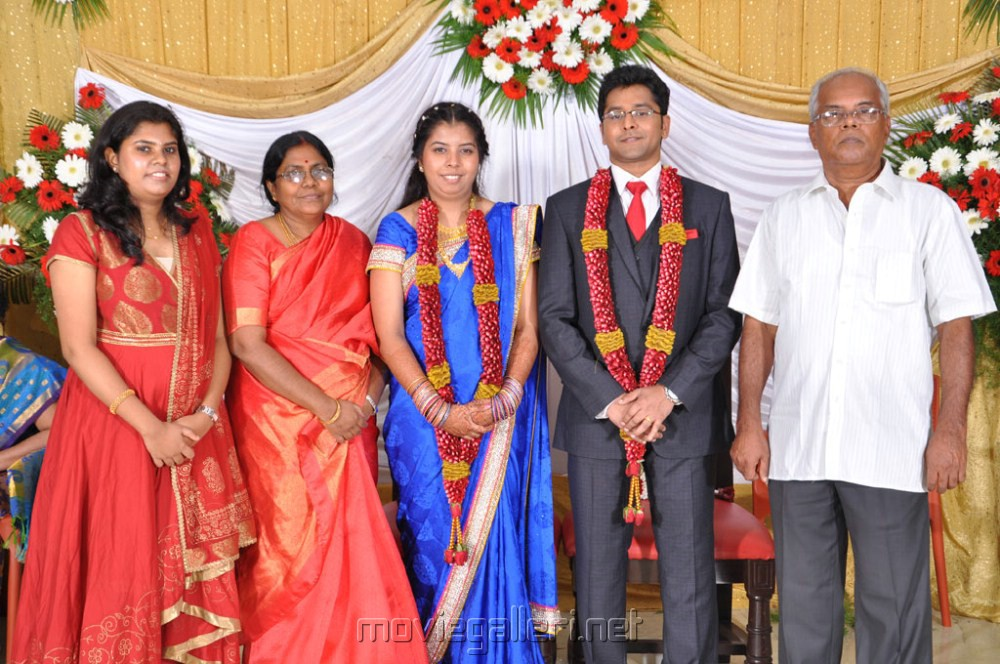 picture 355289 producer m ramanathan daughter wedding