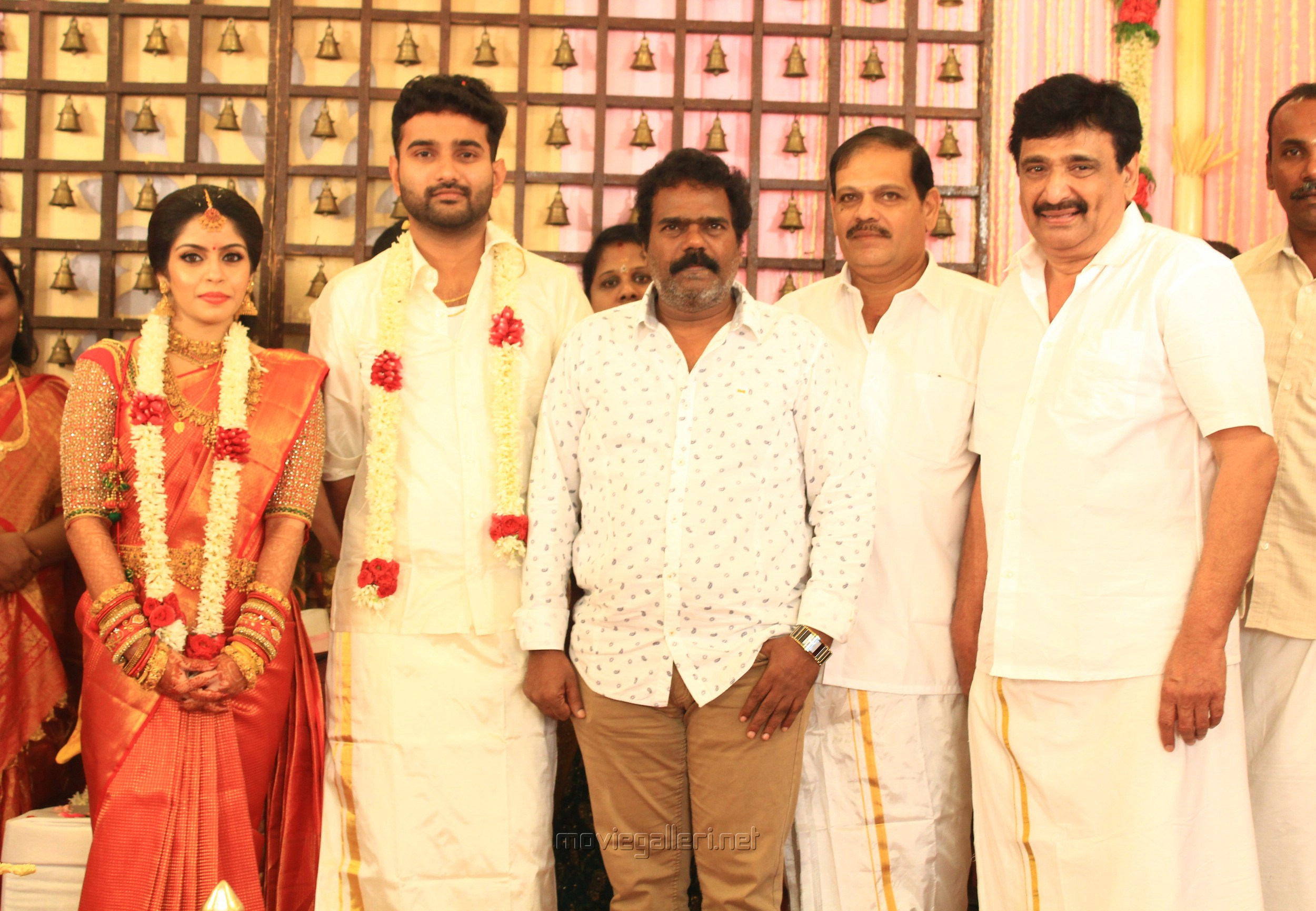 Thangar Bachan @ Ramesh Kanna Son Jashwanth Kannan Priyanka Marriage Photos