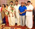 Thambi Ramaiah @ Ramesh Kanna Son Jashwanth Kannan Priyanka Marriage Photos