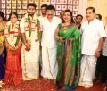 Radhika @ Ramesh Kanna Son Jashwanth Kannan Priyanka Marriage Photos