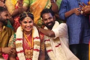 RJ Ramesh Thilak Navalakshmi Wedding Photos
