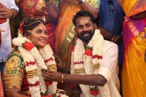 RJ Navalakshmi Ramesh Thilak Marriage Photos