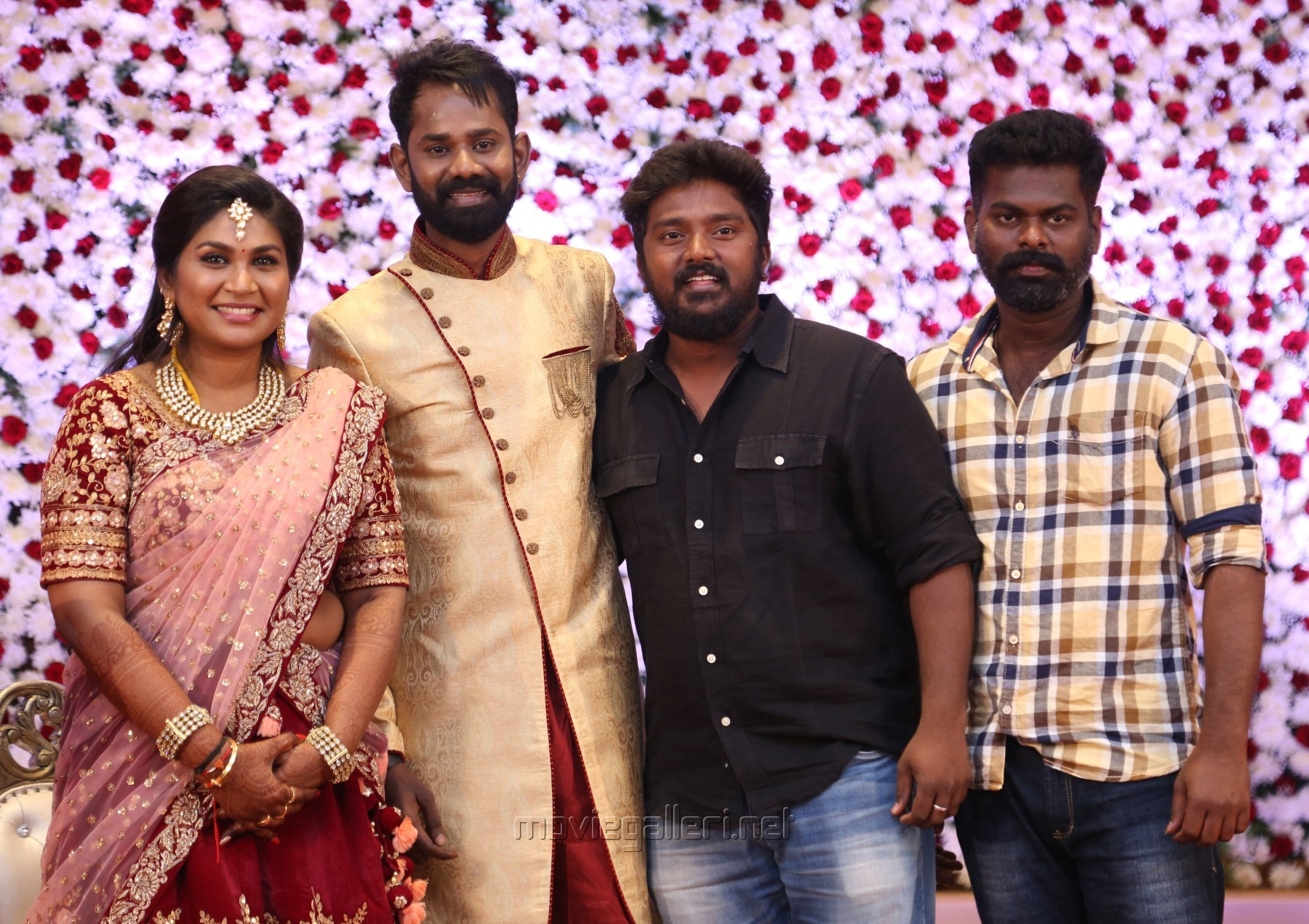 Picture 1312228 | Actor Bala Saravanan @ Ramesh Thilak Navalakshmi ... for Serial Actress Priya Mohan Wedding Photos  585ifm