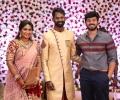Actor Ashwin Kakumanu @ Ramesh Thilak Navalakshmi Wedding Reception Stills