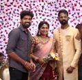 Actor Inigo Prabakaran @ Ramesh Thilak Navalakshmi Wedding Reception Stills