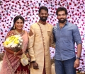 Actor Sibiraj @ Ramesh Thilak Navalakshmi Wedding Reception Stills