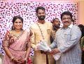 Actor Livingston @ Ramesh Thilak Navalakshmi Wedding Reception Stills