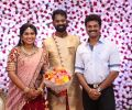 Actor Prem @ Ramesh Thilak Navalakshmi Wedding Reception Stills