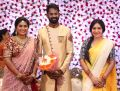Anchor Ramya @ Ramesh Thilak Navalakshmi Wedding Reception Stills