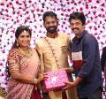 Actor Ramesh Thilak Navalakshmi Wedding Reception Stills
