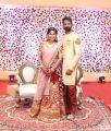 Tamil Actor Ramesh Thilak Navalakshmi Wedding Reception Stills