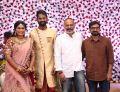 Venkat Prabhu, Aravind Akash @ Ramesh Thilak Navalakshmi Wedding Reception Stills