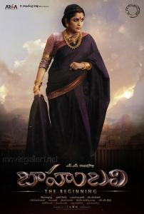 Actress Ramya Krishna as Sivagami in Baahubali Movie Posters