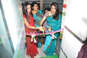 Ramya Krishnan at Ramapuram Green Trends Salon Launch Stills