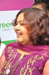 Aarthi Ganesh at Ramapuram Green Trends Salon Launch Stills
