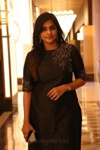 Actress Ramya Nambeesan Images @ Seethakathi Movie Press Meet