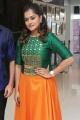 Actress Ramya Nambeesan New Stills in Green Silk Gown