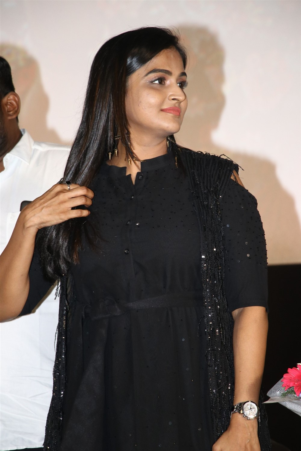 Actress Ramya Nambeesan New images @ Plan Panni Pannanum Audio Launch