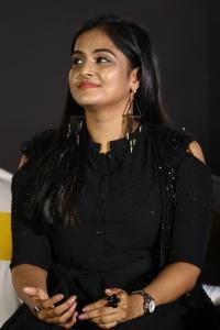 Plan Panni Pannanum Actress Ramya Nambeesan New images in Black Dress