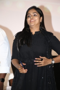Plan Panni Pannanum Actress Ramya Nambeesan Black Dress images