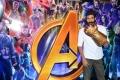 Actor Rana Daggubati at Avengers Movie Press Meet Stills