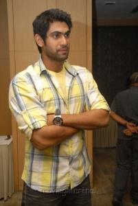 Actor Rana in Naa Ishtam Press Meet Stills