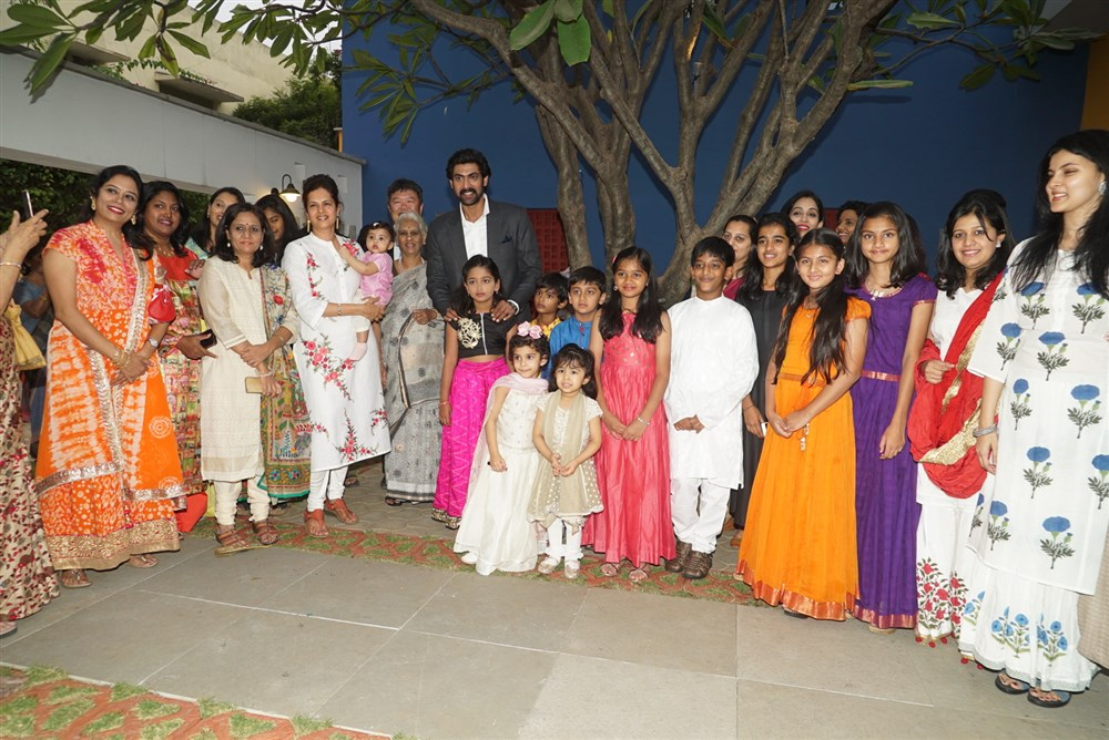 Rana Daggubati Participated Children's Day Program Photos