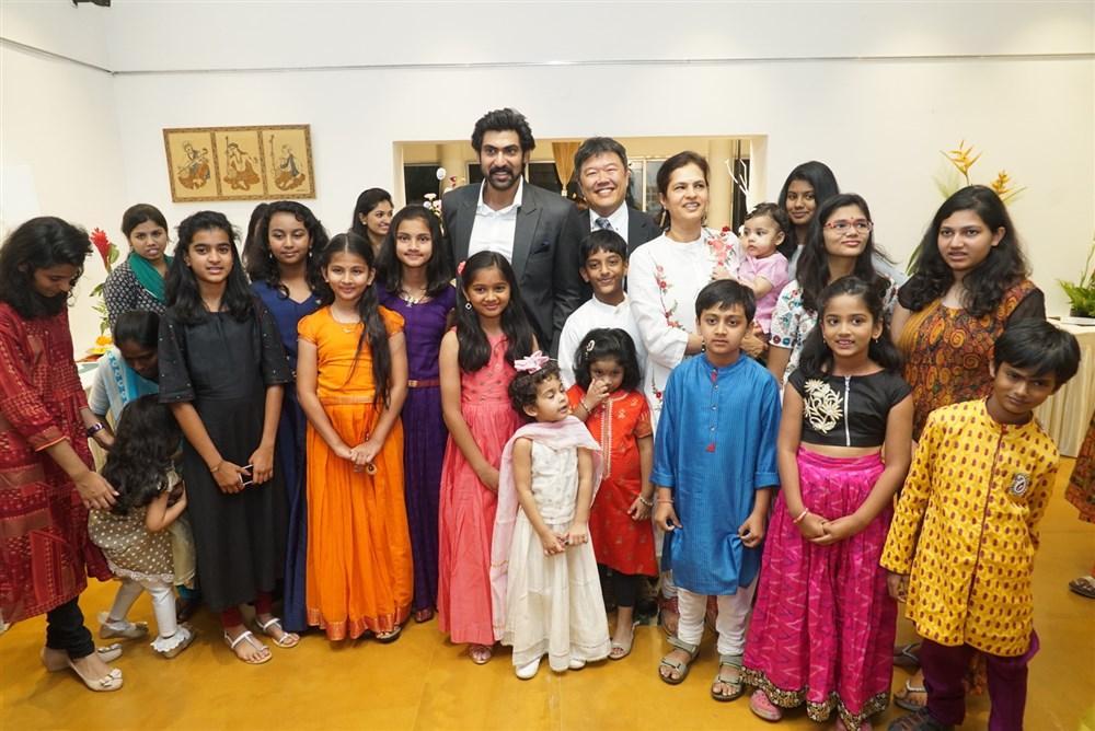 Rana Daggubati Participated at Childrens Day Special Program Photos