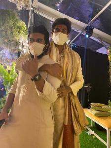 Ram Charan @ Rana Wedding Photos