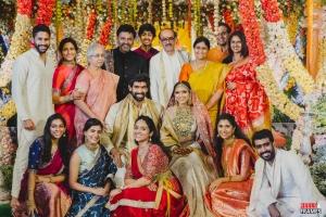 Daggubati Family @ Rana Miheeka Bajaj Marriage Pics Images