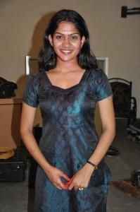 Actress Swasika at Ranam Movie Shooting Spot Stills