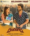 Kalyani Priyadarshan, Sharwanand in Ranarangam Movie Release Today Posters