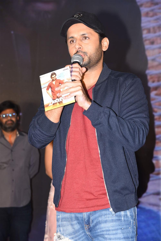 Nithin @ Ranarangam Pre-Release Event Stills