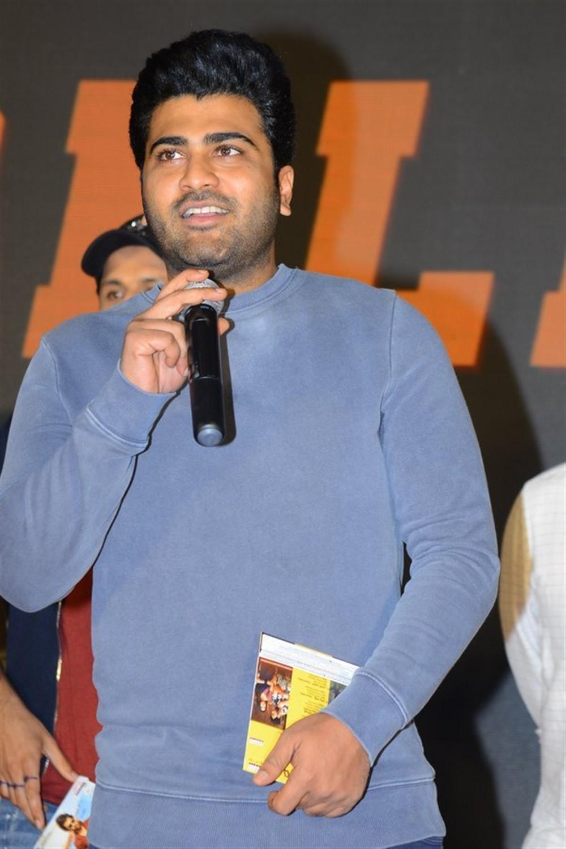 Sharwanand @ Ranarangam Pre-Release Event Stills