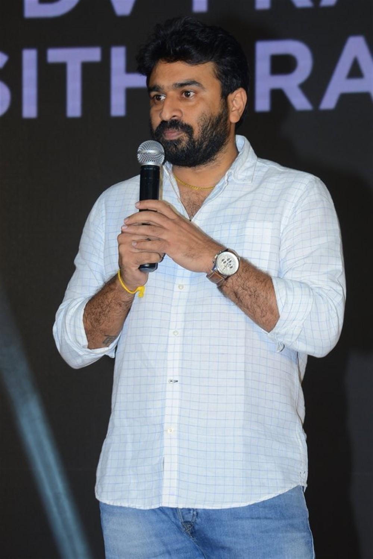 Director Sudheer Varma @ Ranarangam Pre-Release Event Stills