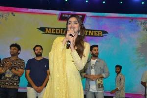 Actress Keerthy Suresh @ Rang De Grand Release @ Rajahmundry Photos