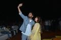 Nithin,Keerthy Suresh @ Rang De Grand Release @ Rajahmundry Photos