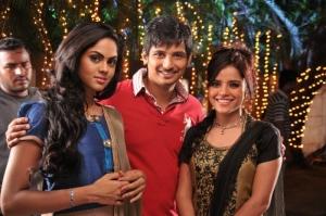 Jeeva, Karthika Nair, Piaa Bajpai @ Rangam Movie Stills