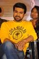 Actor Ram Charan @ Rangasthalam Thank You Meet Stills