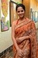 Actress Anasuya Bharadwaj @ Rangasthalam Thank You Meet Stills