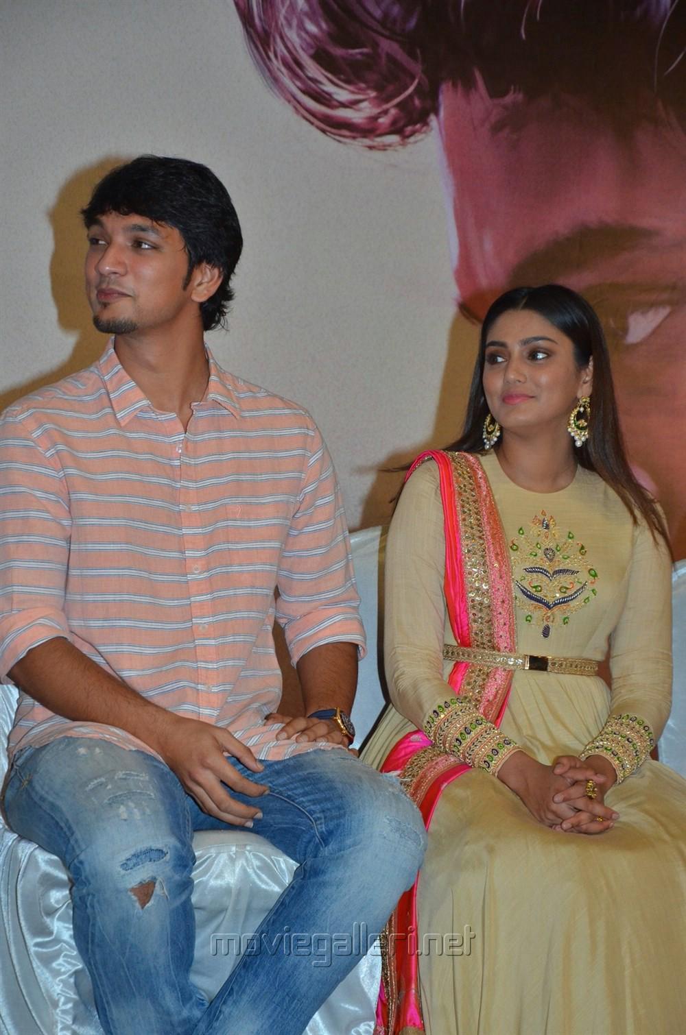 Gautham Karthik, Sana Makbul @ Rangoon Movie Audio Launch Stills