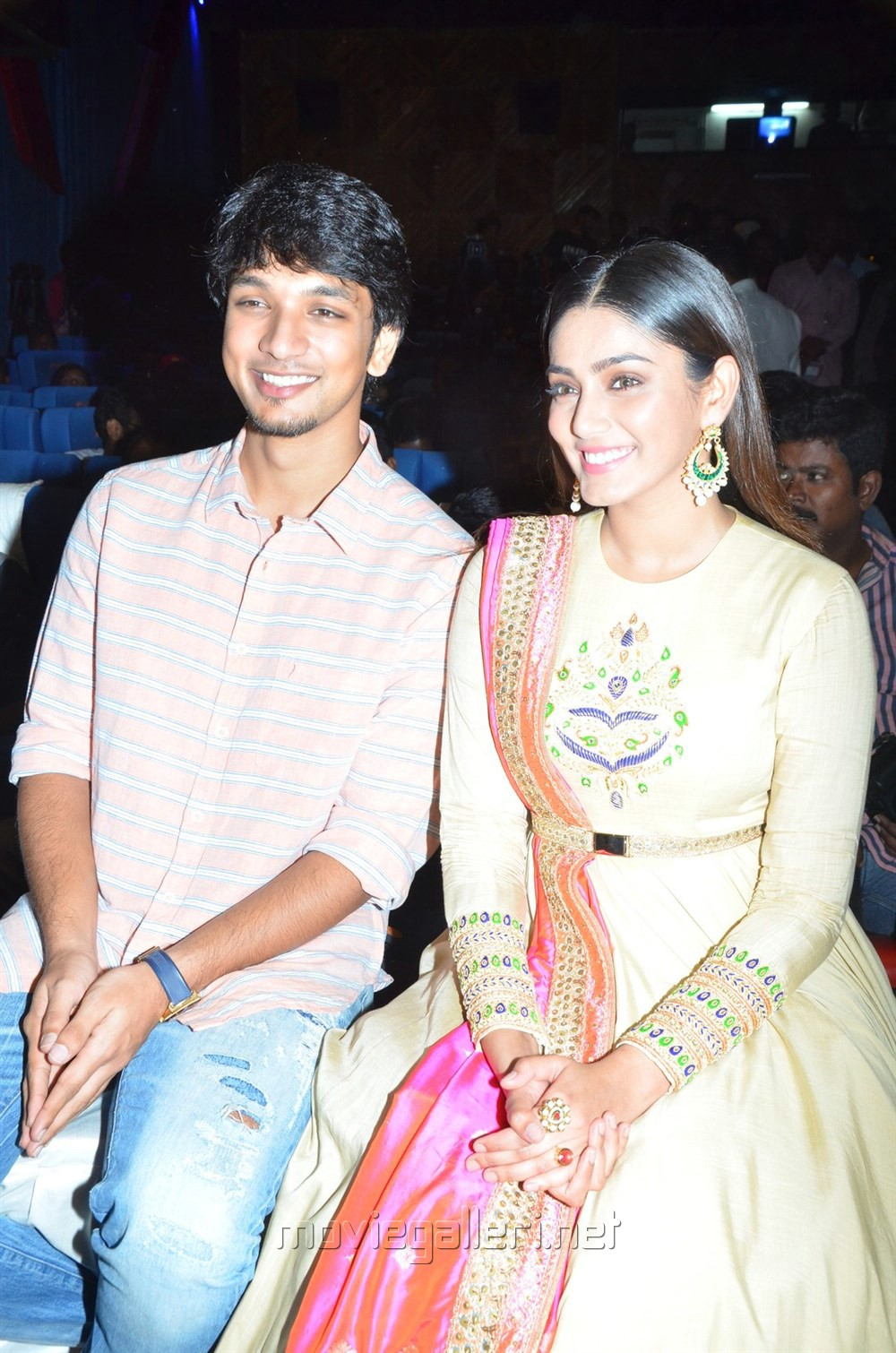 Gautham Karthik, Sana Maqbool @ Rangoon Movie Audio Launch Stills