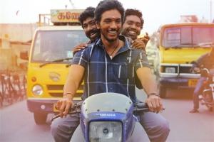 Actor Gautham Karthik in Rangoon Movie Stills